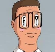 Anime Hank Hill by chegg1