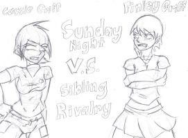 Sunday Night Sibling Rivalry by garatis