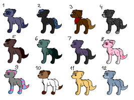 Adopts (5 points each!) 7/12 OPEN! by memesadoptsandstoof