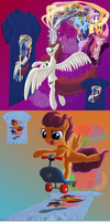 Contest T-shirt designs by DeathPwny