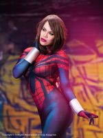 Spider-Girl (Mayday Parker) Cosplay by raquelsparrowcosplay