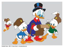 Ducktales Vector by babylon-sticks