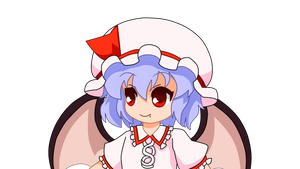 Go Little Sister Emotions - Remilia Scarlet by CawinEMD