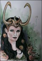 Lady Loki by SallyGipsyPunk