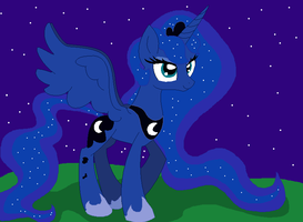 Princess of the Night by TwiTheHedgehog