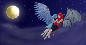 The Angel and her Guardian... by ShadowDemon101