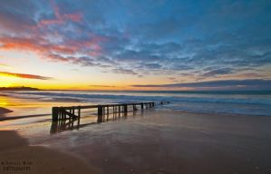 Raafs Beach Sunrise 2 by DanielleMiner
