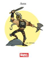 Mighty Marvel Month of March - Ares by tyrannus