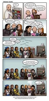 Champions and Heroes: Thedas Tours by Ddriana