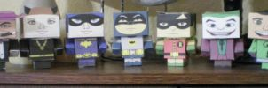 Cubee BATMAN 60'S TV Group by njr75003