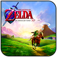 Zelda Ocarina of Time 3D Icon by Alucryd