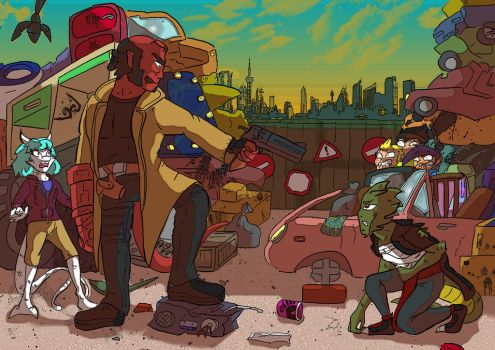 Bs: The Hellboy by QueenSolaris