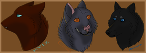 Kyle, Cazzo, and Alvarez by Bottled-Rottweiler