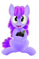 Blackberry Pony by Dragonfoorm