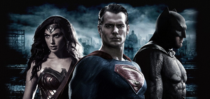 Batman V Superman - Trinity Wallpaper by CAMW1N