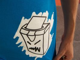 """The Evil Shredder"" Shirt by smosh"