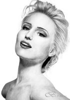 Dianna AGRON Zoom by fabien804