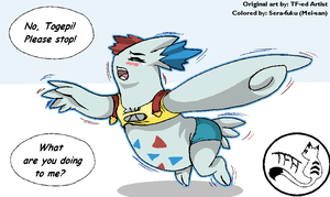 Misty to Togekiss Reloaded (Color for TFed Artist) by Sera-fuku