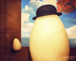 Portrait Of An eGG II by wizz-mccay