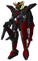 GNW2-003 Gundam Dominion Gamma MS mode by unoservix