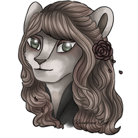 Neopets: Sorrowful Amaranthe by Blesses