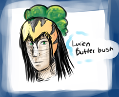 Mr. Butterbush by FeatheredSoap