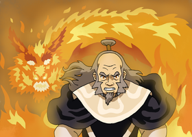 Iroh - The Dragon of the West by Juggernaut-Art