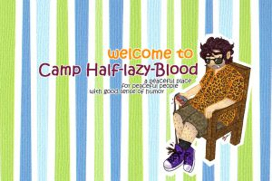 PJO: Camp Half-lazy-Blood by AiniBluebell