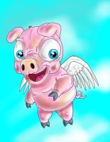 Flyingpig1 by bigcas61