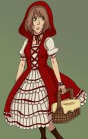 Folklore - Red Riding Hood by Kireikage