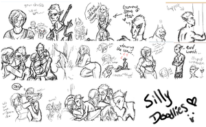 Dragon Ages Doodli by HellLemur