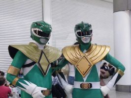 Green Rangers by AkraruPhotography