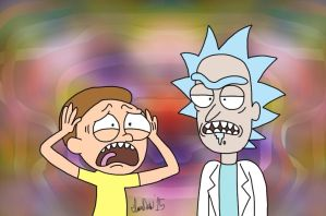Rick And Morty by TheIransonic