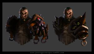 Orc Concept by cheo36