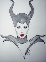 Maleficent by Airaily