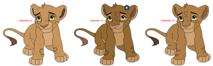 TiifuxKobe cubs (for ChelseaTheChihuahua) by 13BatScorpion95