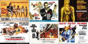 1960's James Bond Movies by ESPIOARTWORK-102
