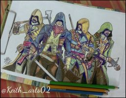 Assassins creed Unity by Keith-arts02