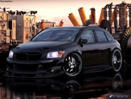 Dodge Caliber by roobi