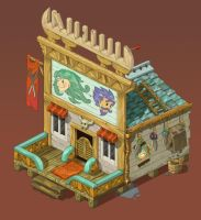 Barber house by Matiush83
