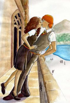 HP_Ron_Herm_kiss by LizzieBennet