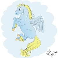 Little pegasus by Vikarus