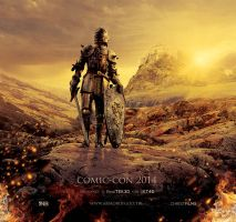 Armor of God Movie Poster Template by loswl