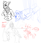 P-A: sketchdump yet again by lord-stardustt
