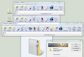 WinRAR Theme: Windows7 Default by chaddawkins