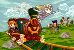 Legend of Zelda: Spirit Tracks by tellie-tale