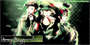 .: Army Boys :. by mio-umineko