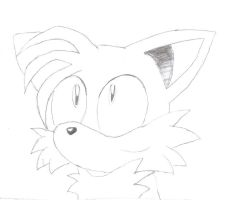 Tails Drawing - sonicandtailsr by TailsFanclub