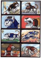 Voltron Sketch Cards 2 of 7 by TerryTibke