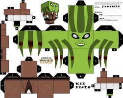 Kit Fisto Cubeecraft Ver. 2 by JagaMen